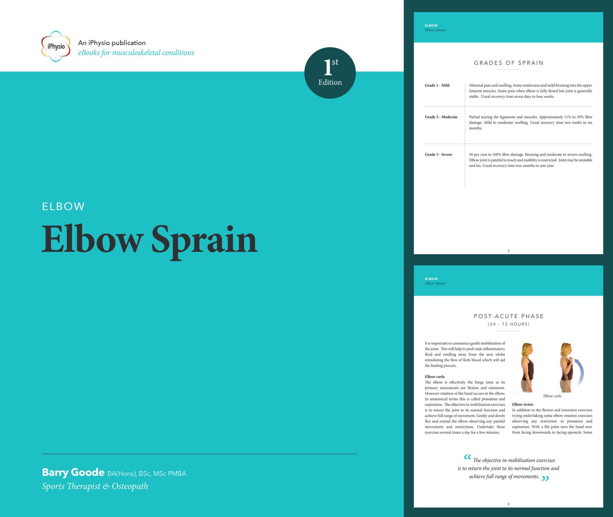 Elbow Sprain treatment advice