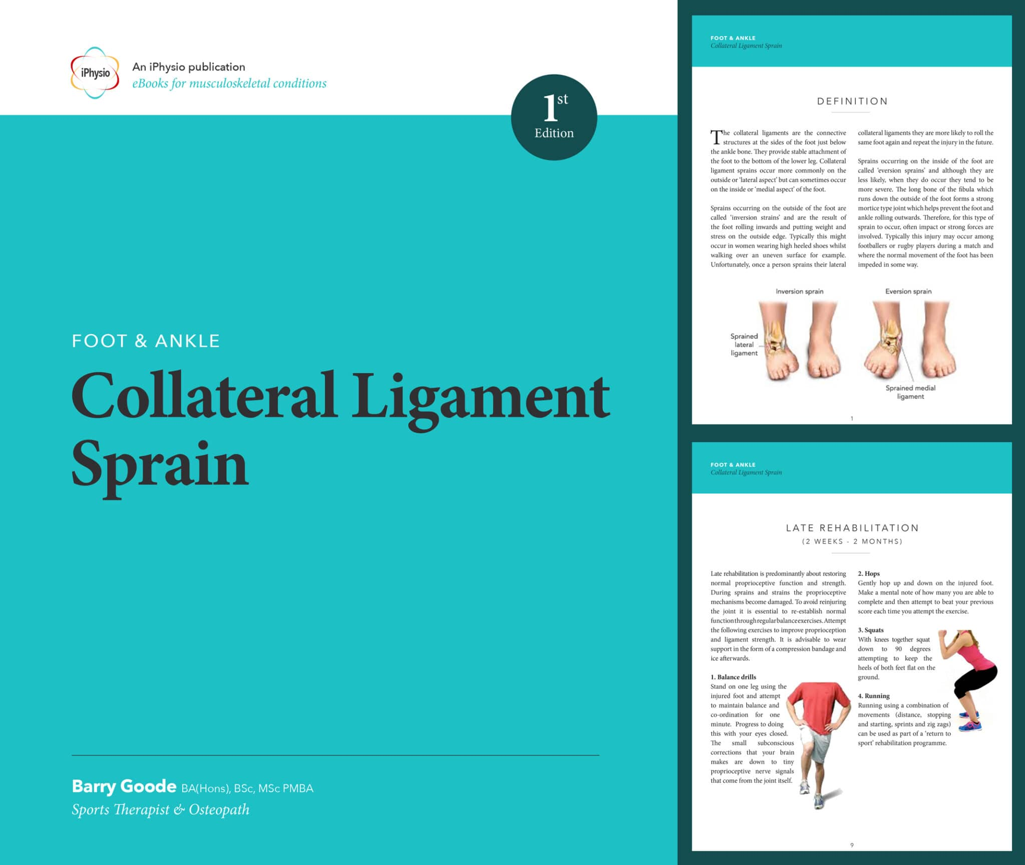Collateral Ligament Sprain treatment advice