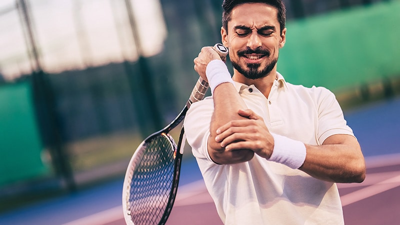 Treating Tennis Elbow - advice from the experts